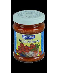 Condimento al frutti di mare - Tomatensauce mit Meeresfrüchten (130g)