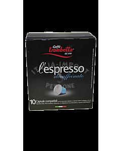 Espressokapseln l'espresso decaffeinato 10 Kapseln