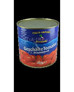 Geschälte Tomaten in Tomatensaft (2550g)