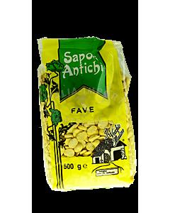 Fave – gelbe halbe Saubohnen getrocknet (500g)