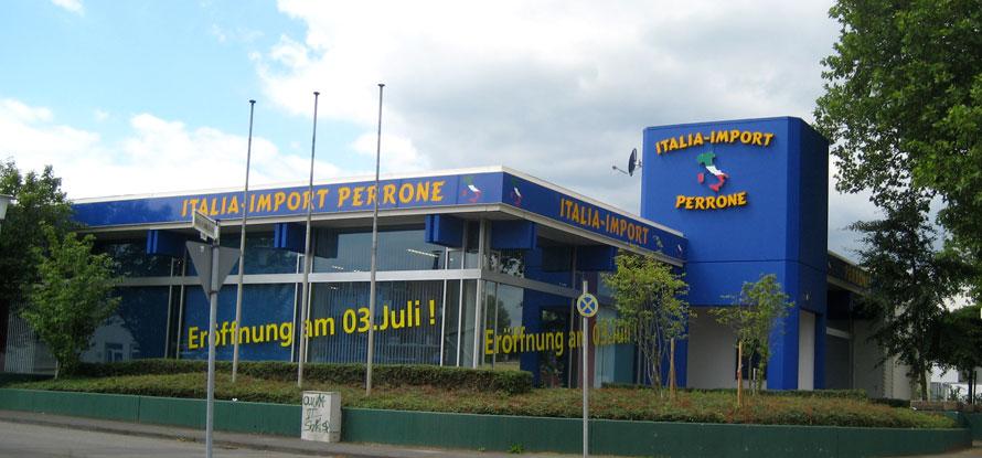 Italia Import Perrone Eröffnung