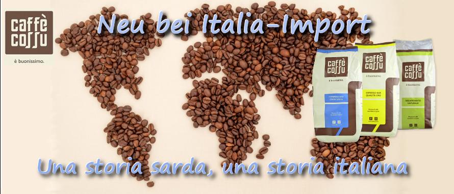 caffe cossu premiumkaffee aus Sardinien